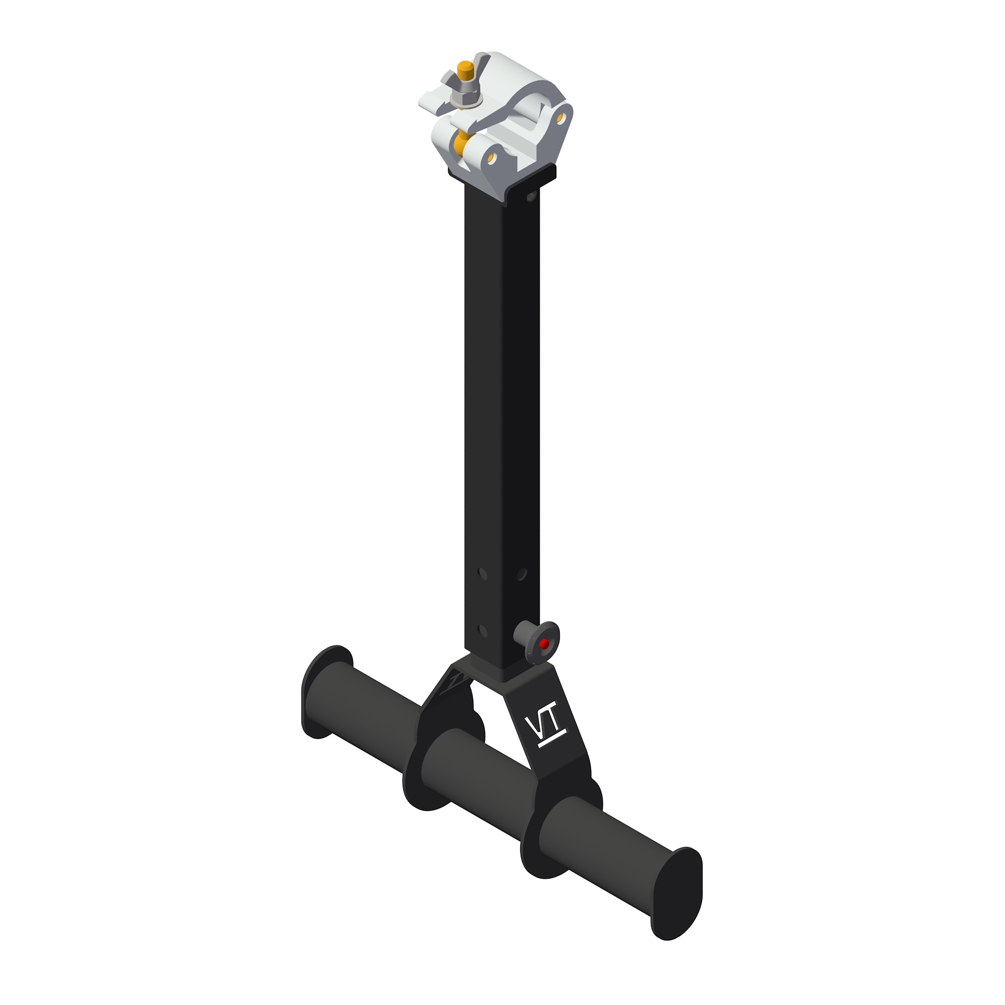 droparm downrigger verstelbaar telescoop